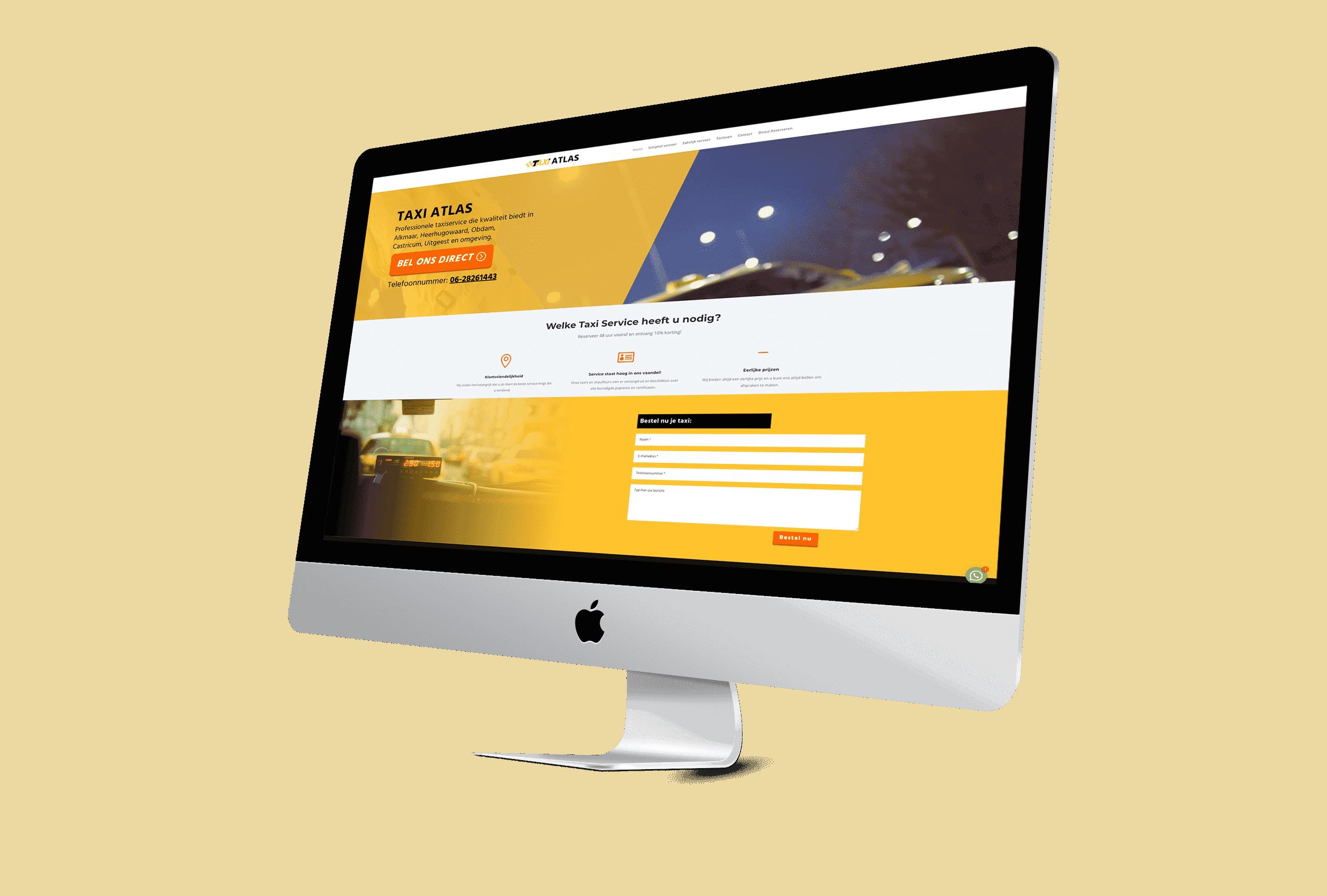 Wordpress website taxi