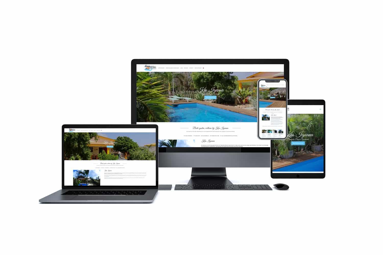 Website vakantiewoning Bonaire