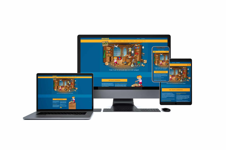 Speelgoedwinkel website