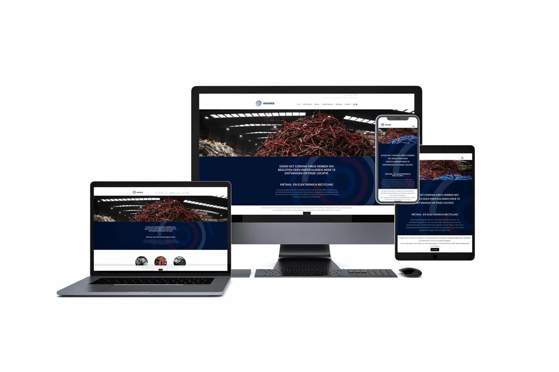 website voor metaalverwerking