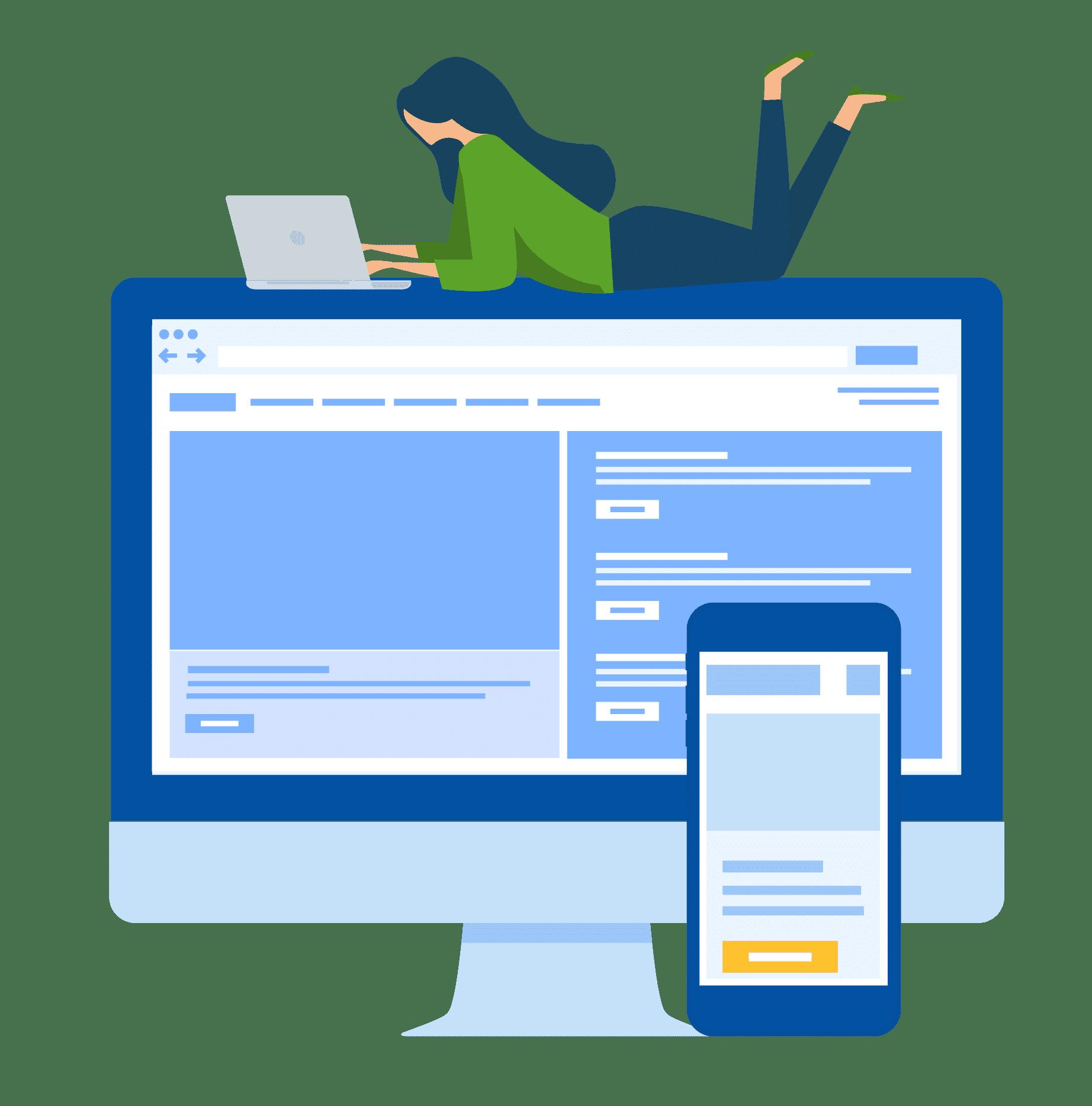 responisve wordpress website